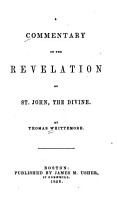 A Commentary on the Revelation of St  John  the Divine PDF