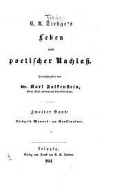 Leben und poetischen Nachlass: Bd. Tiedge's Mannes- und Greisenalter
