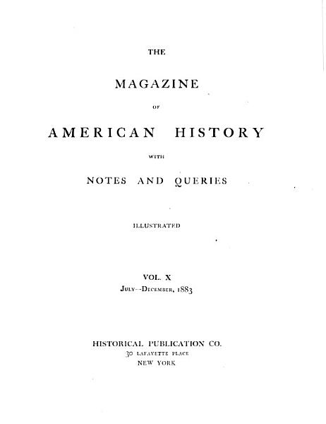 Download The Magazine of American History with Notes and Queries Book