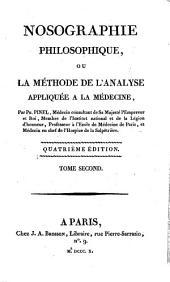 Nosographie philosophique: ou, La méthode de l'analyse appliquée à la médecine, Volume2
