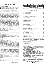 Knickerbocker Weekly PDF