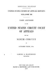 United States Courts of Appeals Reports: Cases Adjudged in the United States Circuit Court of Appeals, Volume 29