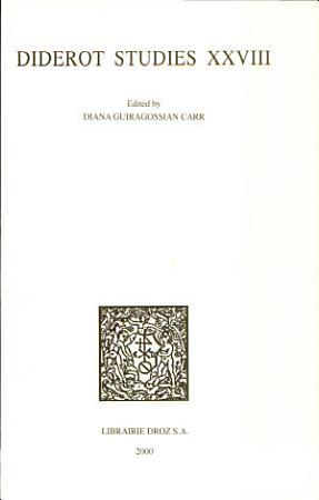 Diderot Studies PDF