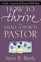 How to Thrive as a Small Church Pastor PDF