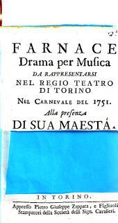 Farnace drama [|! per musica da rappresentarsi nel Regio Teatro di Torino nel Carnevale del 1751. Alla presenza di sua Maesta: Pagina 2