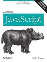 Learning JavaScript PDF