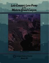 Late Cenozoic Lava Dams in the Western Grand Canyon PDF