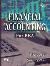 FINANCIAL ACCOUNTING: FOR BBA
