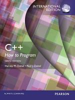 C   How to Program  Early Objects Version   International Edition PDF