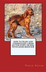 How to Train and Understand a Irish Setter Puppy Or Dog with Good Behavior