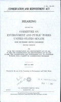 Conservation and Reinvestment Act PDF