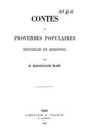 Contes et proverbes populaires recueilles en Armagnac