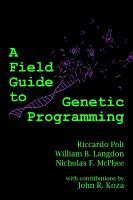 A Field Guide to Genetic Programming PDF