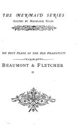 Beaumont and Fletcher: Volume 1