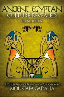 The Ancient Egyptian Culture Revealed  2nd edition PDF