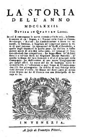 Storia (de' principali avvenimenti) degli anni 1730, 1731 e seg. - Amsterdam, Pitteri 1731-