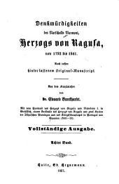 Denkwürdigkeiten des Marschalls Marmont, Herzogs von Ragusa, von 1792 bis 1841: nach dessen hinterlassenem Original, Band 8