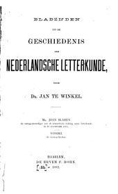 Bladzijden uit de geschiedenis der Nederlandsche letterkunde