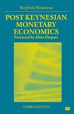Post Keynesian Monetary Economics