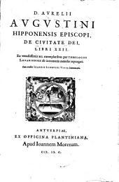 De civitate Dei libri XXII