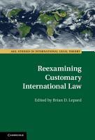 Reexamining Customary International Law PDF