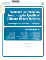National Conference on Improving the Quality of Criminal History Records PDF