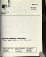 Kenya s Unfinished Democracy PDF