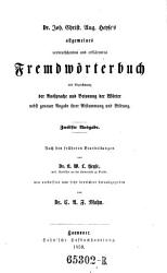 Allgemeines verdeutschendes und erkl  rendes Fremdw  rterbuch  12  Ausg PDF