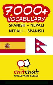 7000+ Spanish - Nepali Nepali - Spanish Vocabulary