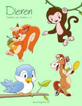 Dieren Kleurboek voor Kleuters 1 & 2