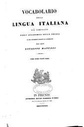Vocabolario della lingua italiana: Volume 1,Parte 1
