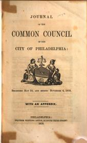 Journal of the Common Council of the City of Philadelphia for the Year ...