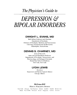 The Physician   s Guide to Depression and Bipolar Disorders PDF
