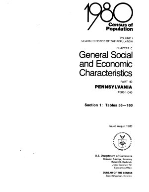 1980 Census of Population   Volume 1  Characteristics of the Population   Part 1  United States Summary  Parts 2 57   States and Territories