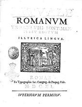 Rituale Romanum Vrbani 8. pont. max. iussu editum Illyrica lingua