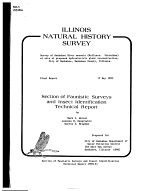 Survey of Kankakee River Mussels  Mollusca  Unionidae  at Site of Proposed Hydroelectric Plant Reconstruction  City of Kankakee  Kankakee County  Illinois PDF