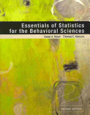 Essentials of Statistics for the Behavioral Sciences + Psychology and the Real World