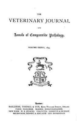 Veterinary Journal and Annals of Comparative Pathology PDF
