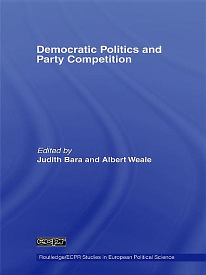 Democratic Politics and Party Competition PDF