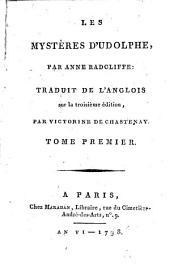 Les Mystères D'Udolphe: Volume1