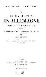 LA  llemagne et la R  forme PDF