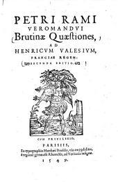 Brutinae quaestiones in oratorem Ciceronis
