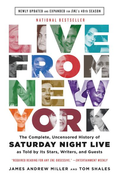 Download Live From New York Book