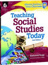 Teaching Social Studies Today 2nd Edition PDF