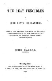 The Reay Fencibles, Or, Lord Reay's Highlanders