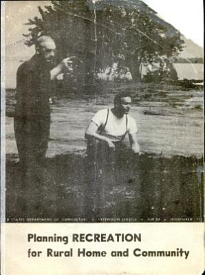 Planning Recreation for Rural Home and Community PDF