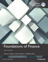 Foundations of Finance  Global Edition PDF