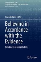 Believing in Accordance with the Evidence PDF
