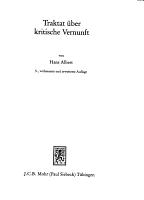 Traktat   ber kritische Vernunft PDF