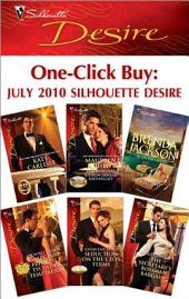 One-Click Buy: July 2010 Silhouette Desire: The Millionaire Meets His Match\Claiming Her Billion-Dollar Birthright\Virgin Princess, Tycoon's Temptation\Seduction on the CEO's Terms\The Secretary's Bossman Bargain
